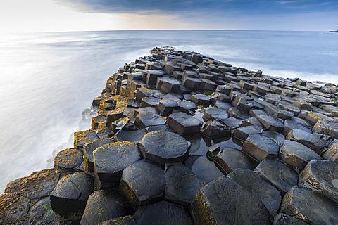 Giant's Causeway, basalt columns, Causeway Coast, County Antrim, Northern Ireland, United Kingdom, Europe