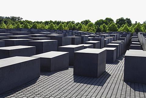 Stelae, Holocaust Memorial, Berlin, Germany, Europe