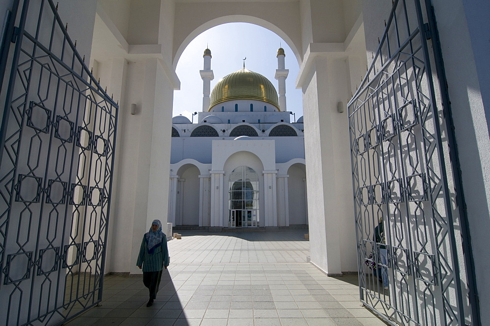 Islamic Center and Nur-Astana Mosque, Astana, Kazakhstan, Central Asia