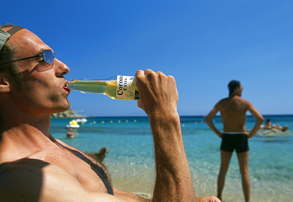 Super Paradise Beach, Mykonos Island, Cyclades, Greece, Europe