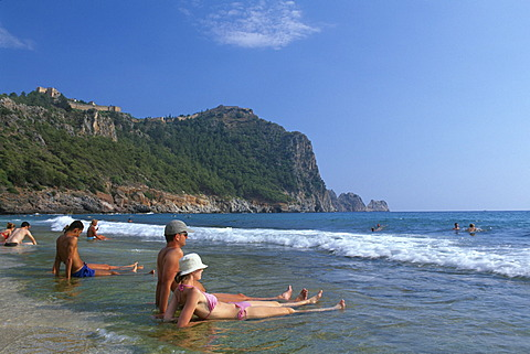 Cleopatra Beach, Alanya, Turkish Riviera, Turkey