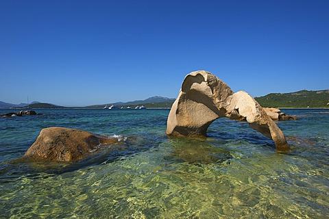 Cala di Volpe bay, Costa Smeralda, Sardinia, Italy, Europe