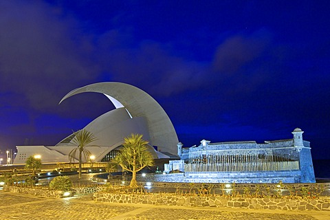 Opera House in Santa Cruz, Tenerife, Canary Islands, Spain, Europe