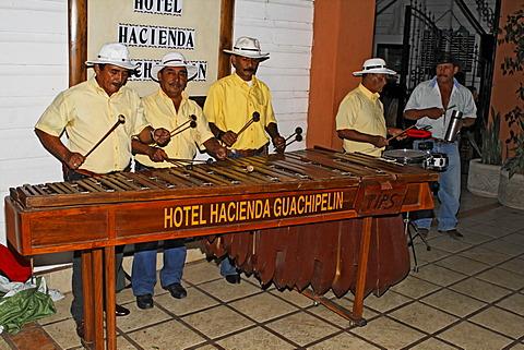 Marimba, Hotel Hacienda Guachipelin Lodge, Rincon de la Vieja, Guanacaste, Costa Rica