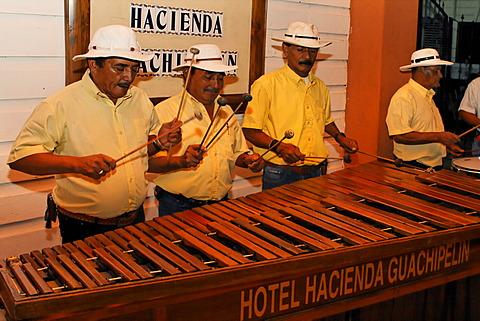 Marimba, Hotel Hacienda Guachipelin Lodge, Rincon de la Vieja, Guanacaste, Costa Rica - 832-371638