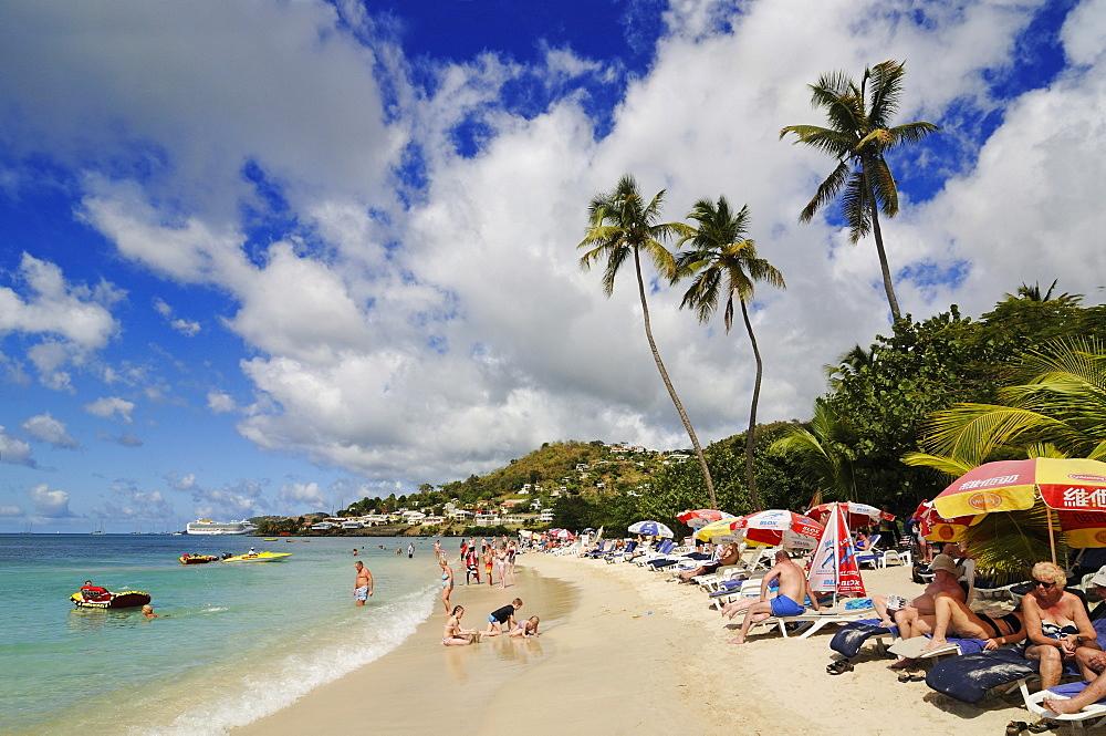 Grand Anse Beach, Saint George, Grenada, Lesser Antilles, Caribbean