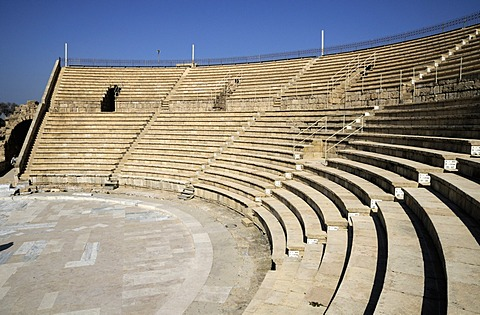 Roman theatre at Caesarea, Israel, Middle East
