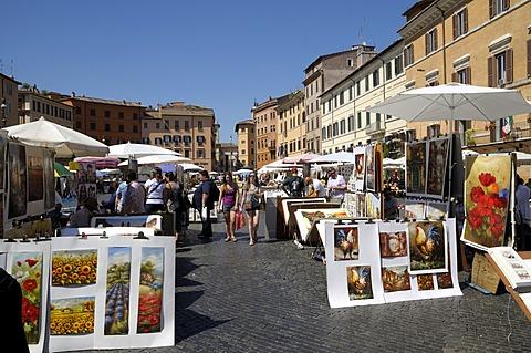 Piazza Navona, Rome, Italy, Europe