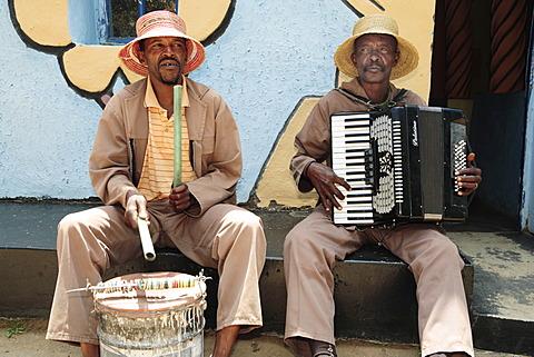 Two Sotho Men, Lesotho, Africa