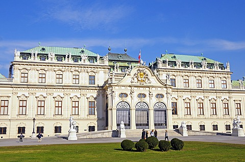 Schloss Belvedere Palace, Vienna, Austria, Europe