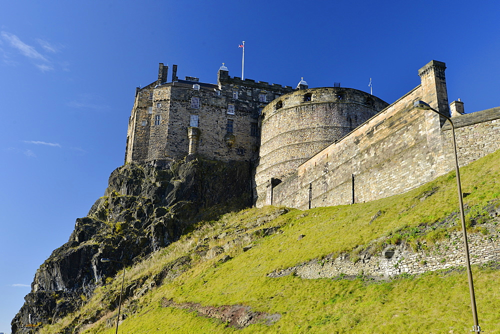 Edinburgh Castle, Edinburgh, Scotland, United Kingdom, Europe