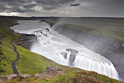 Gullfoss waterfall, Iceland, Europe - 832-372505