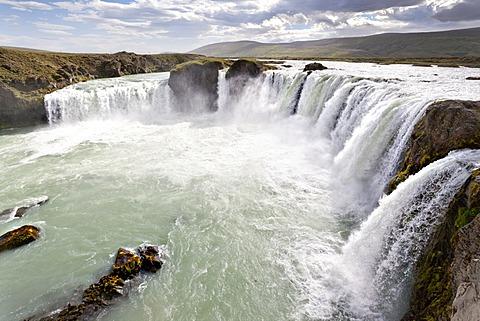 Godafoss waterfall, Iceland, Europe - 832-372507