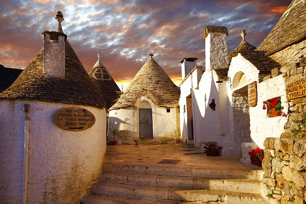 Trulli houses of Alberobello, Puglia, Italy, Europe