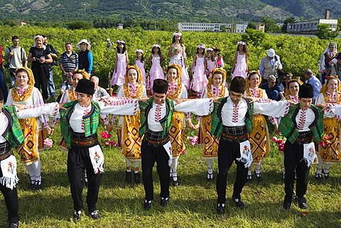 Dancers, Rose Festival, Rose picking, Karlovo, Bulgaria