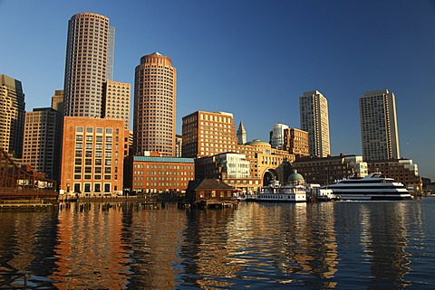 Waterfront, City of Boston, Massachusetts, New England, USA, Boston, Massachusetts, United States, North America