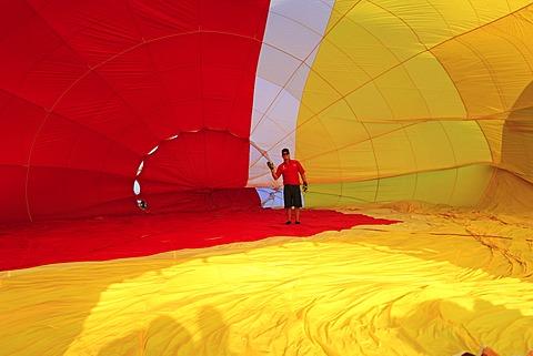 Ballooning Festival, Saint-Jean-sur-Richelieu, Quebec Province, Canada, North America