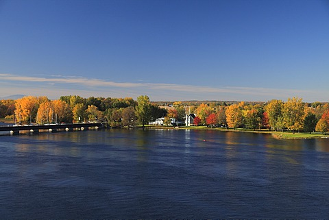Richelieu River, Eastern Townships, Quebec Province, Canada, North America