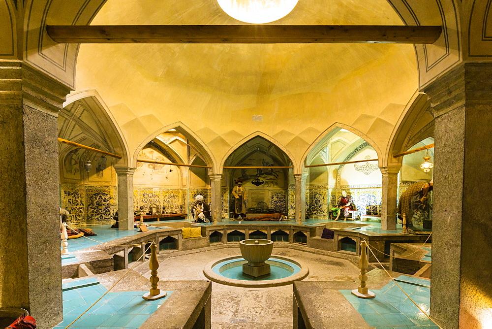 Hammam-e Ali Gholi Agha or Ali Gholi Agh Hammam, Esfahan, Iran, Asia