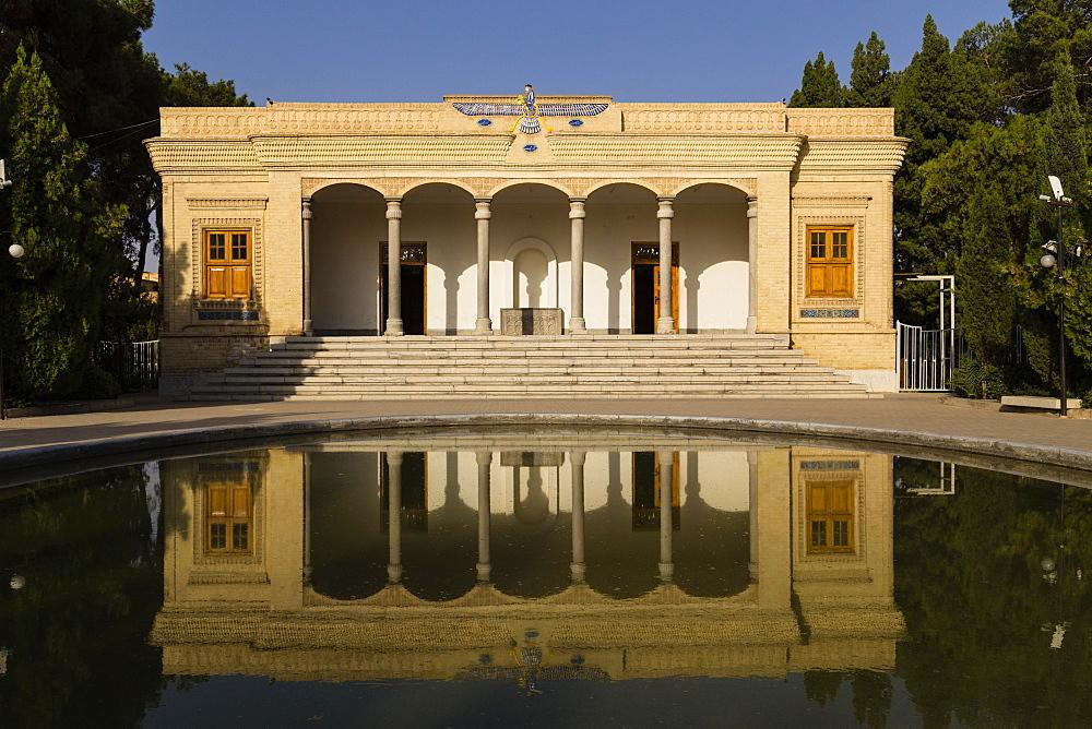 Ateshkadeh, a Zoroastrian Fire Temple, Yazd, Iran, Asia