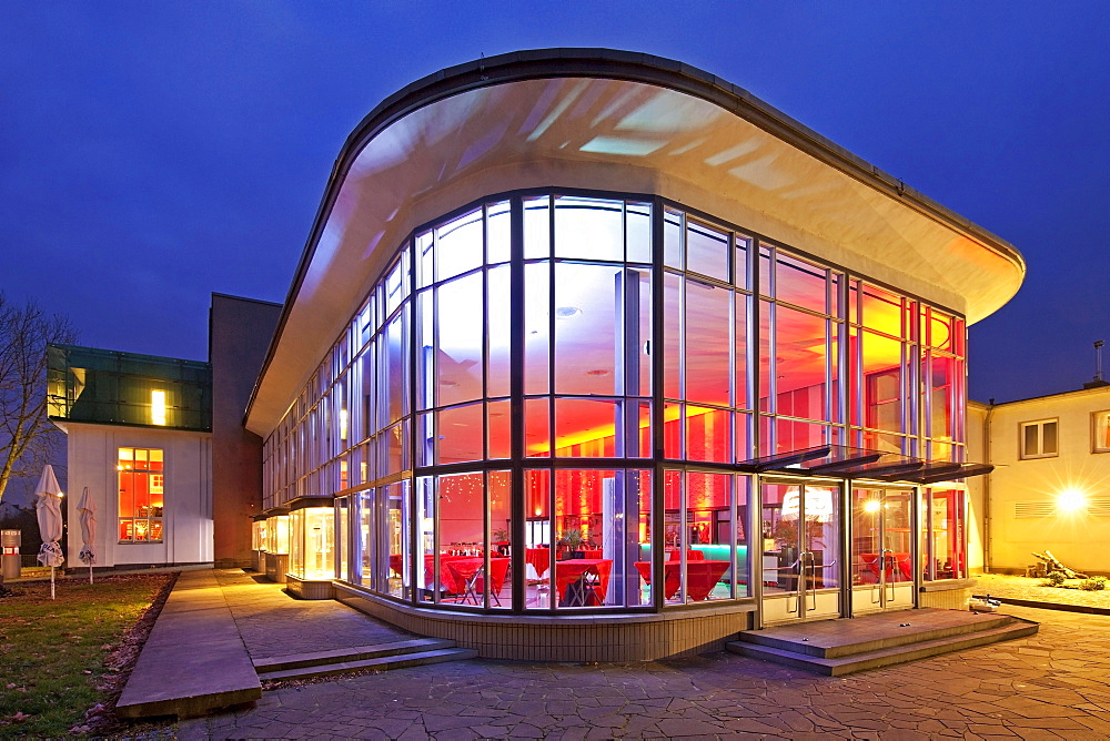 Reception hall, Forum Produktdesign, Dammerung, Conference and Event Centre, Solingen, Bergisches Land, North Rhine-Westphalia, Germany, Europe