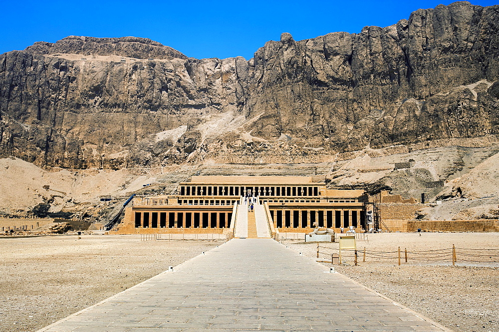 Hatshepsut Temple, Thebes, Luxor Governorate, or Luxor, Egypt, Africa