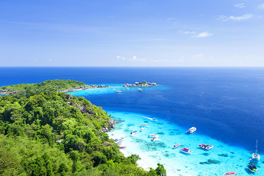 Ko Miang, Mu Ko Similan National Park, Similan Islands, Phang Nga province, Thailand, Asia