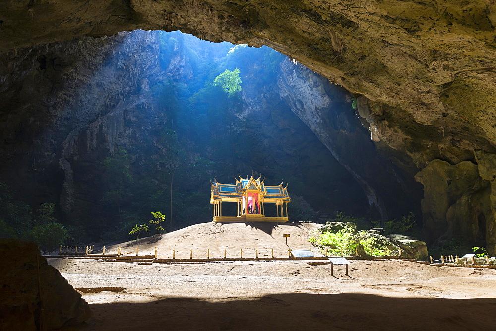 Kuha Karuhas Pavillon, Phraya Nakhon cave, Khao Sam Roi Yot National Park, Prachuap Khiri Khan province, Thailand, Asia