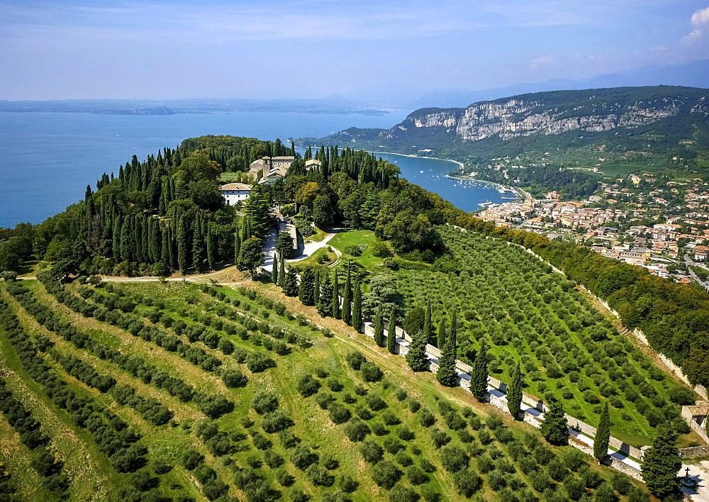 Rocca di Garda, Garda, Lake Garda, Veneto, Italy, Europe