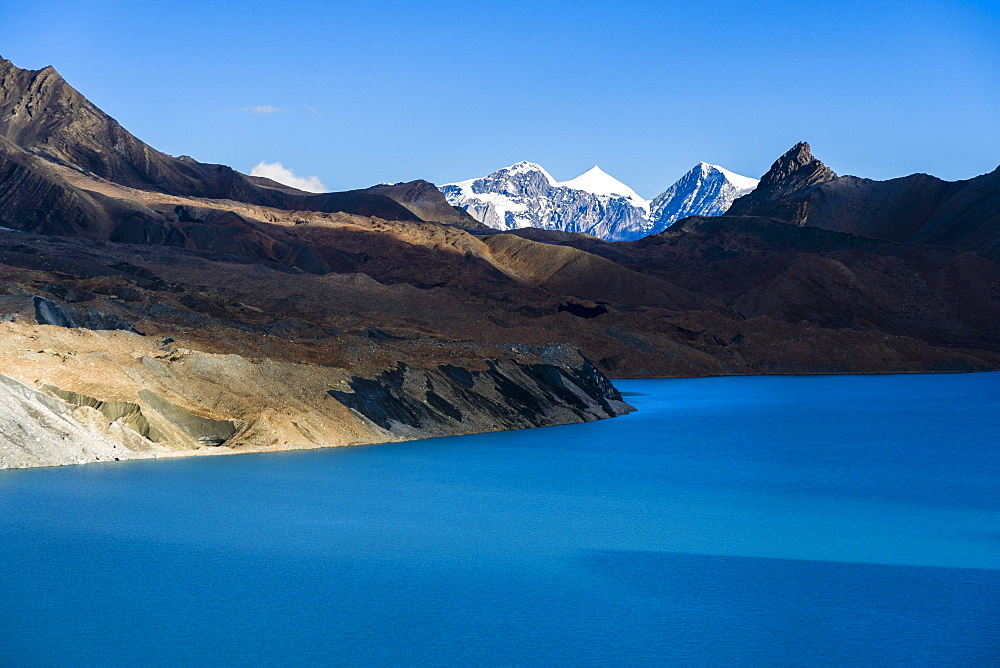 Tilicho Lake, Manang District, Annapurna region, Nepal, Asia