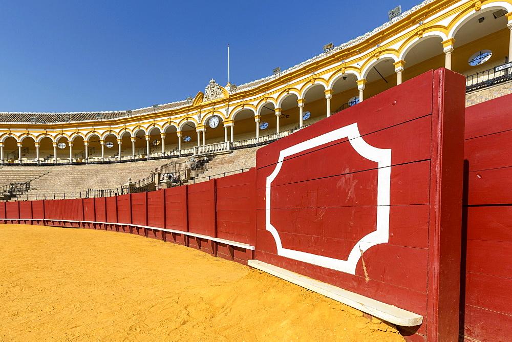 Bullring, Plaza de Toros de la Maestranza, Seville, Andalusia, Spain, Europe