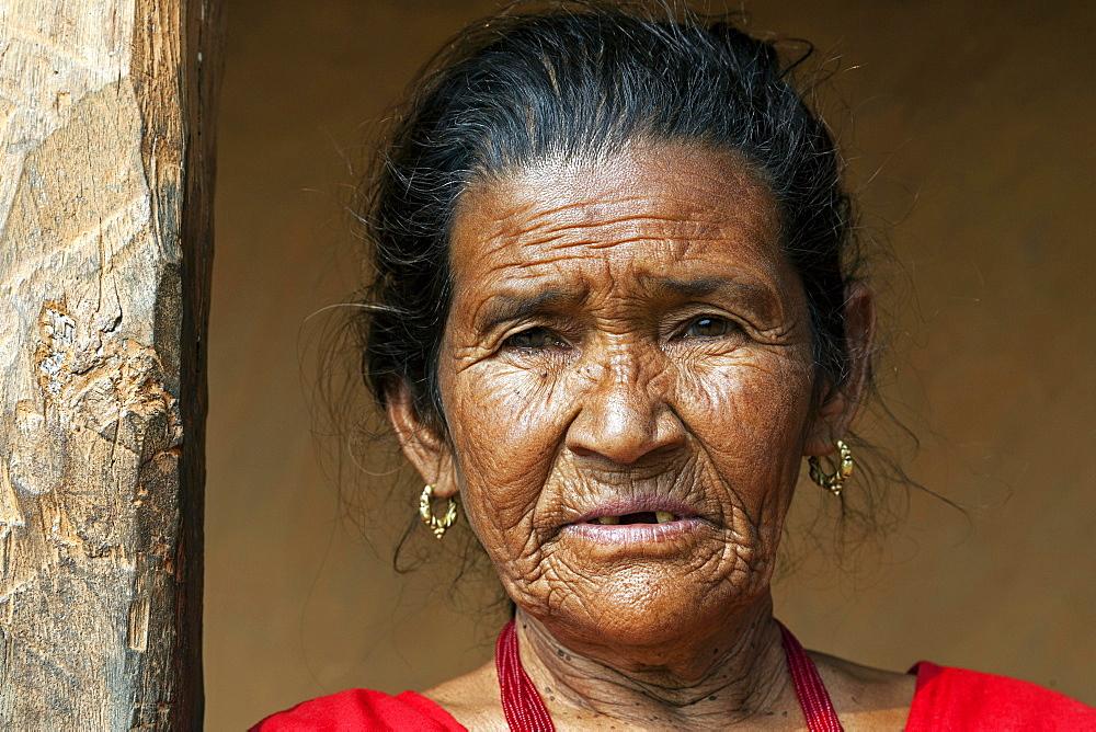 Nepalese woman, Portrait, Bandipur, Nepal, Asia