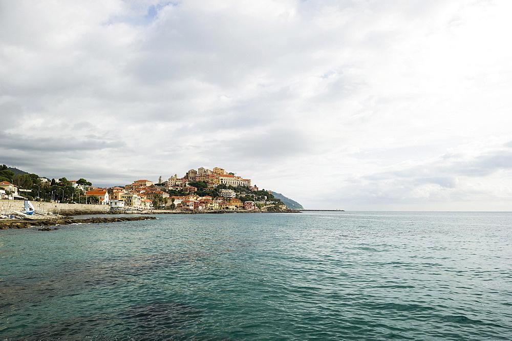 Townscape, Porto Maurizio, Imperia, Province of Imperia, Riviera di Ponente, Liguria, Italy, Europe