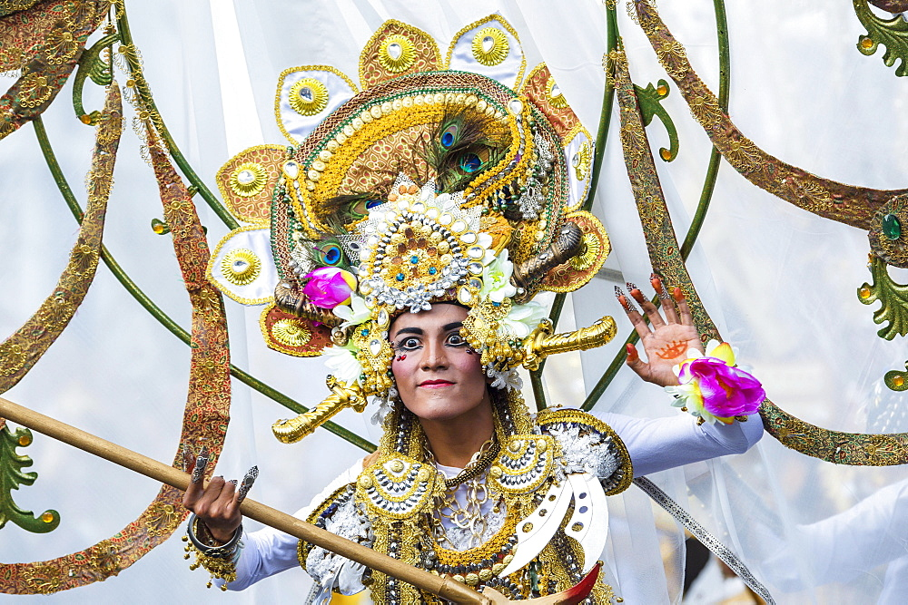 Jember Fashion Festival and Carnival, East Java, Indonesia, Asia