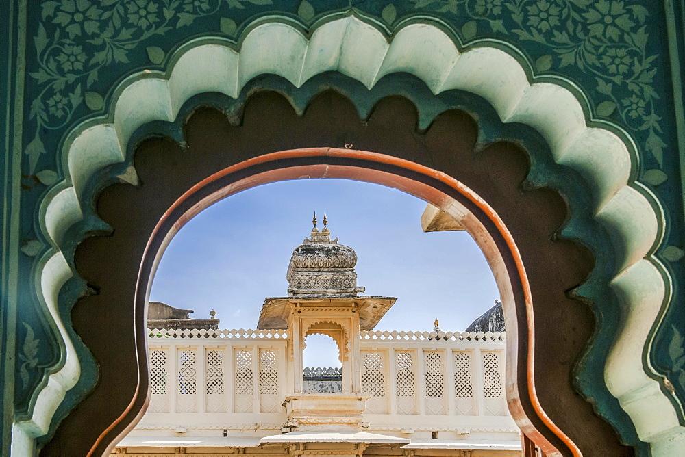 City Palace of the Maharaja, Udaipur, Rajasthan, India, Asia