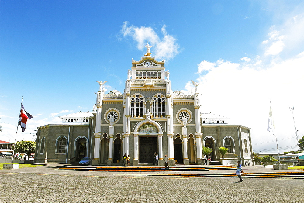 Basilica de Nuestra Senora de los Angeles, Province of Cartago, Costa Rica, Central America