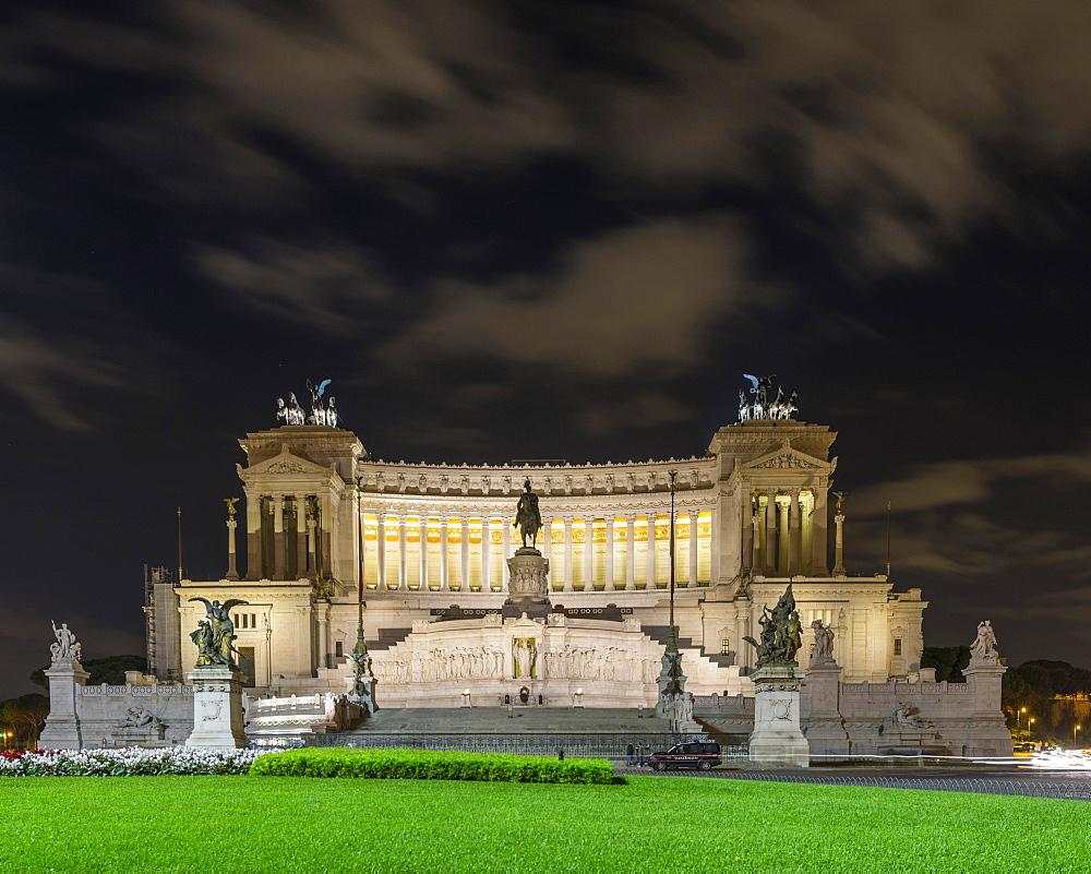 National Monument, Monumento Nazionale a Vittorio Emanuele II, Rome, Lazio, Italy, Europe