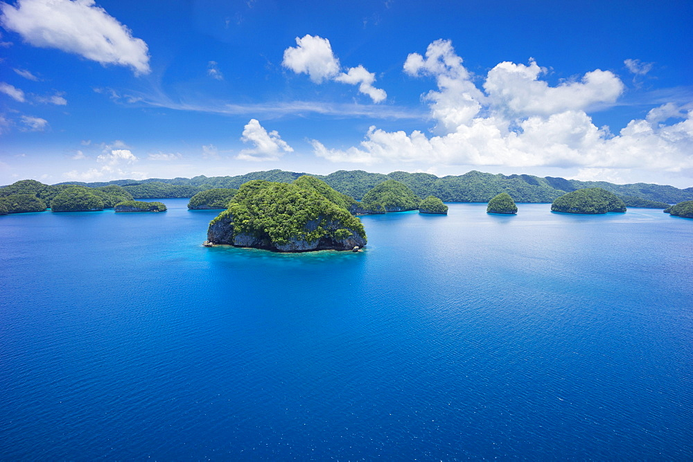 Islands in the island paradise of Palau, Micronesia, Oceania