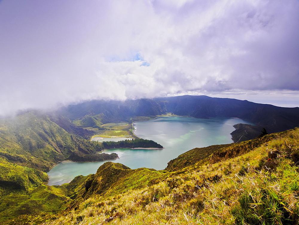 Lagoa do Fogo, Sao Miguel Island, Azores, Portugal, Europe