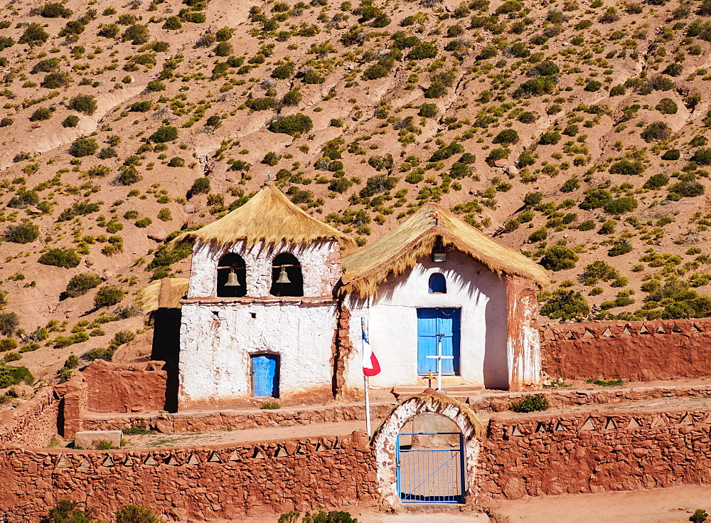 Church in Machuca, Antofagasta Region, Chile, South America