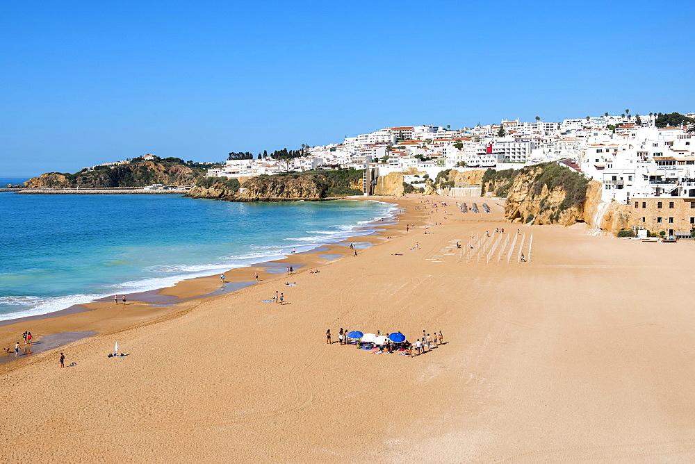 Fisherman's Beach, Albufeira, Algarve, Portugal, Europe