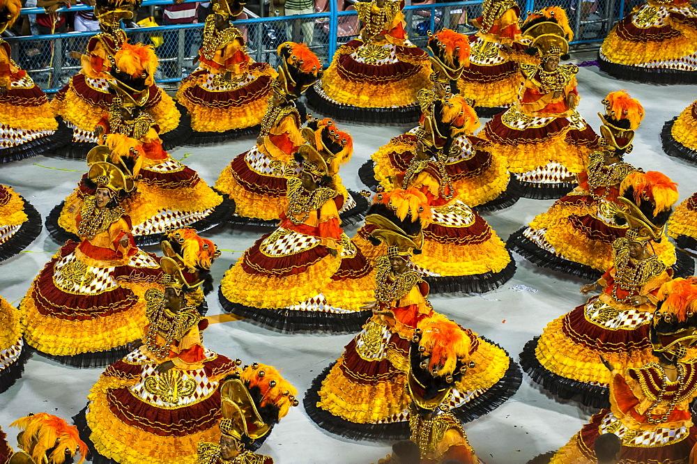 Samba Parade, Rio Carnival, Rio de Janeiro, Brazil, South America