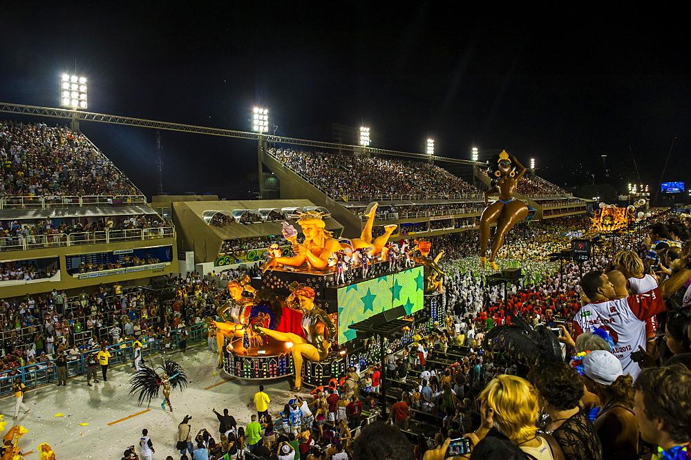 Samba Parade, Rio Carnival, Rio de Janeiro, Brazil, South America - 832-383277