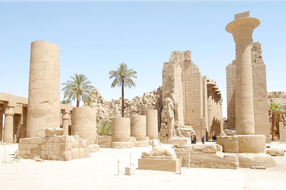 Karnak Temple Complex, Thebes, El-Karnak, Luxor, Egypt, Africa