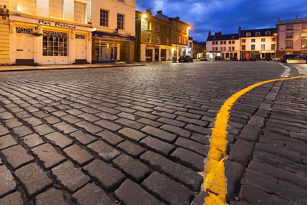 Market Square, Kelso, Scottish Borders, Scotland, United Kingdom, Europe