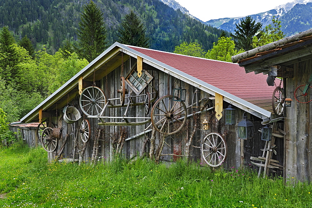 Carriage Museum, near Hinterstein, Allgau, Bavaria, Germany, Europe