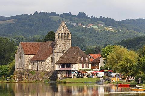 Beaulieu sur Dordogne, Dordogne valley, Correze, Limousin, France, Europe