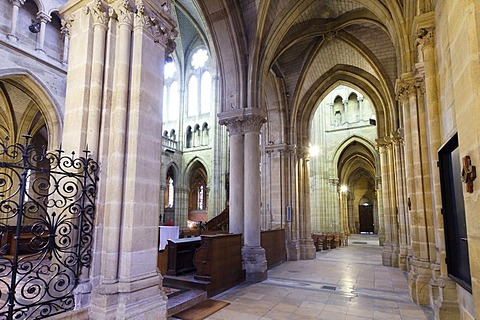 The Sacre Coeur church, town of Moulins, Allier, Auvergne, France, Europe