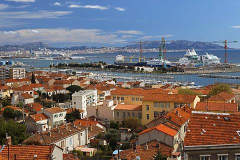 L'Estaque neighborhood, Marseille, Bouches-du-Rhone, Provence, France, Europe