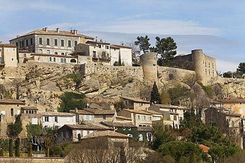 Village of Menerbes, Luberon, Vaucluse, Provence, France, Europe